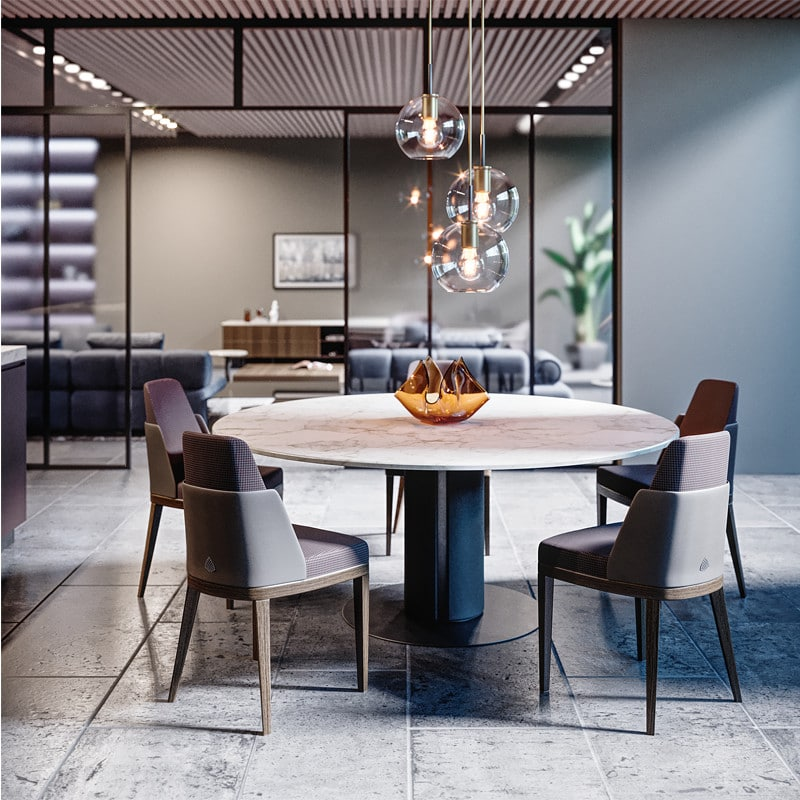EDWARD-2 Dining table PRODUCTS SM Living Couture