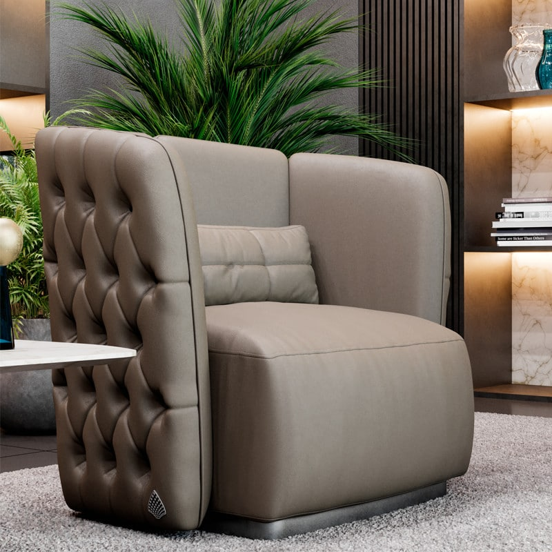 FORD-CAPITONNE-2 Armchairs & Chaises Longues PRODUCTS SM Living Couture